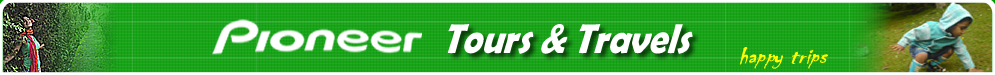 Pioneer Tours and Travels Kodaikanal - No.1 tour operators , travel agency, tour arrangers in kodaikanal, rental cars services